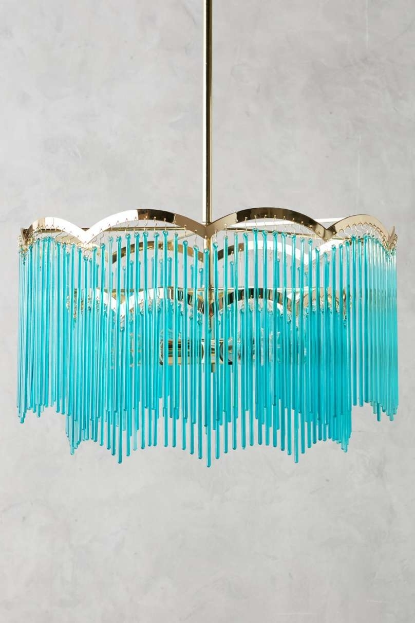 Turquoise Lantern Chandeliers For Most Current Lantern Chandelier Large Images (View 9 of 20)