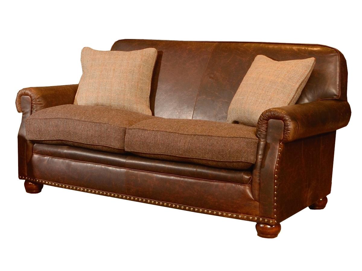 Tweed Fabric Sofas Inside Most Recent Stornoway Midi Sofa – Harris Tweed Collection – Lpc Furniture (View 18 of 20)