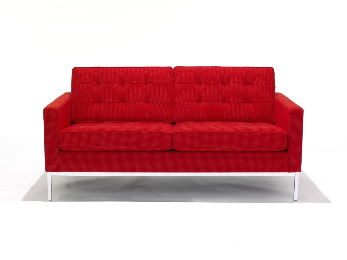 Two Seater Sofas In Most Up To Date Buy The Knoll Studio Knoll Florence Knoll Two Seater Sofa At Nest (View 7 of 20)