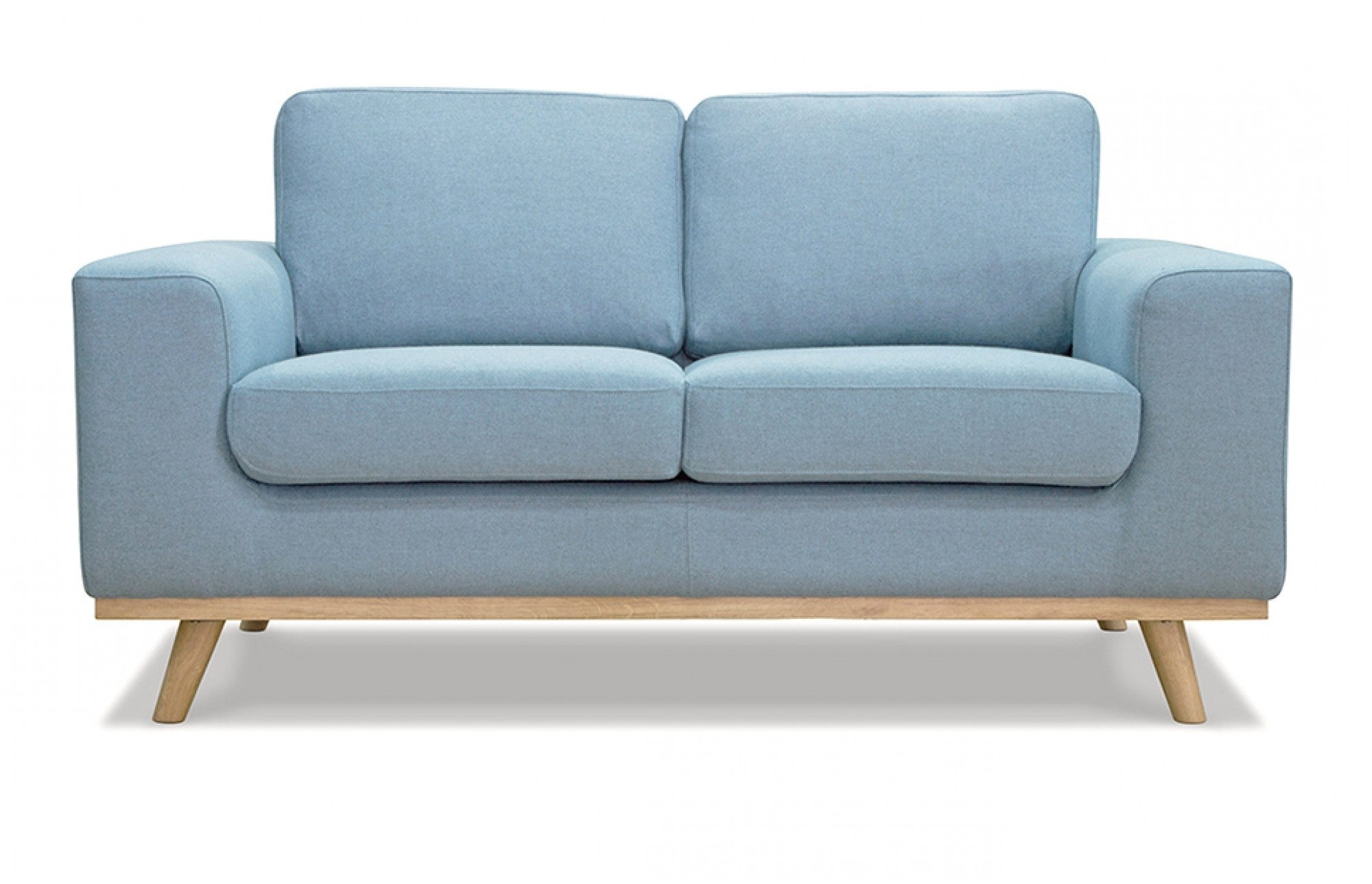 Two Seater Sofas With Famous 2 Seater Blue Sofa – Lounge Furniture – Out & Out (View 14 of 20)