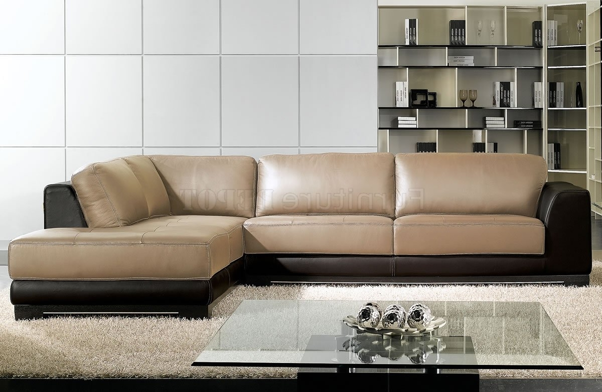 Two Tone Sofas Regarding Widely Used Two Tone Leather Sofa – Google Search (View 7 of 20)