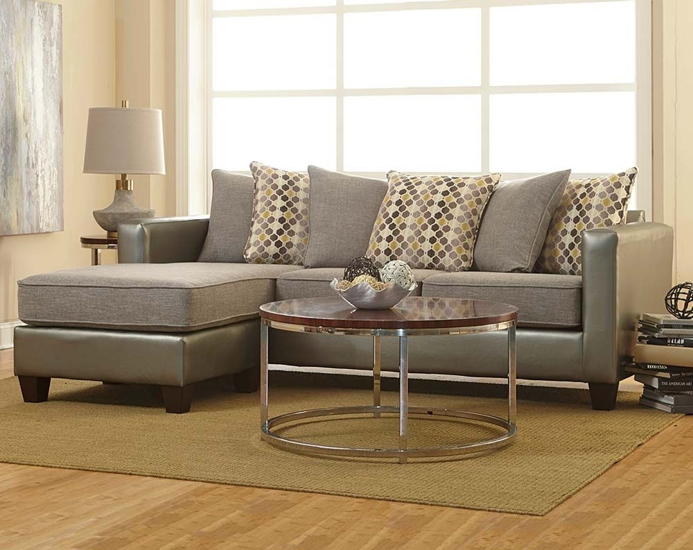 Two Toned In Shades Of Gray, The Quatro Canary 2 Piece Sectional With Regard To Preferred Michigan Sectional Sofas (View 17 of 20)
