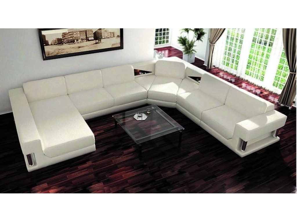 U Shaped Leather Sectional Sofas Inside Favorite Measure U Shaped Sectional Sofa – Http://sofas (View 12 of 20)