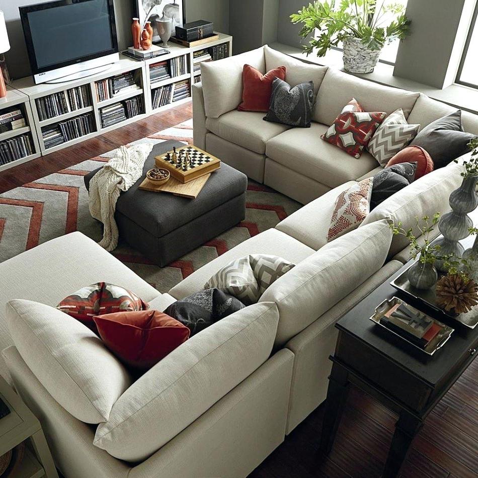 U Shaped Sectional Sofas For Latest U Shaped Sectional Sofas – Koupelnynaklic (View 5 of 20)