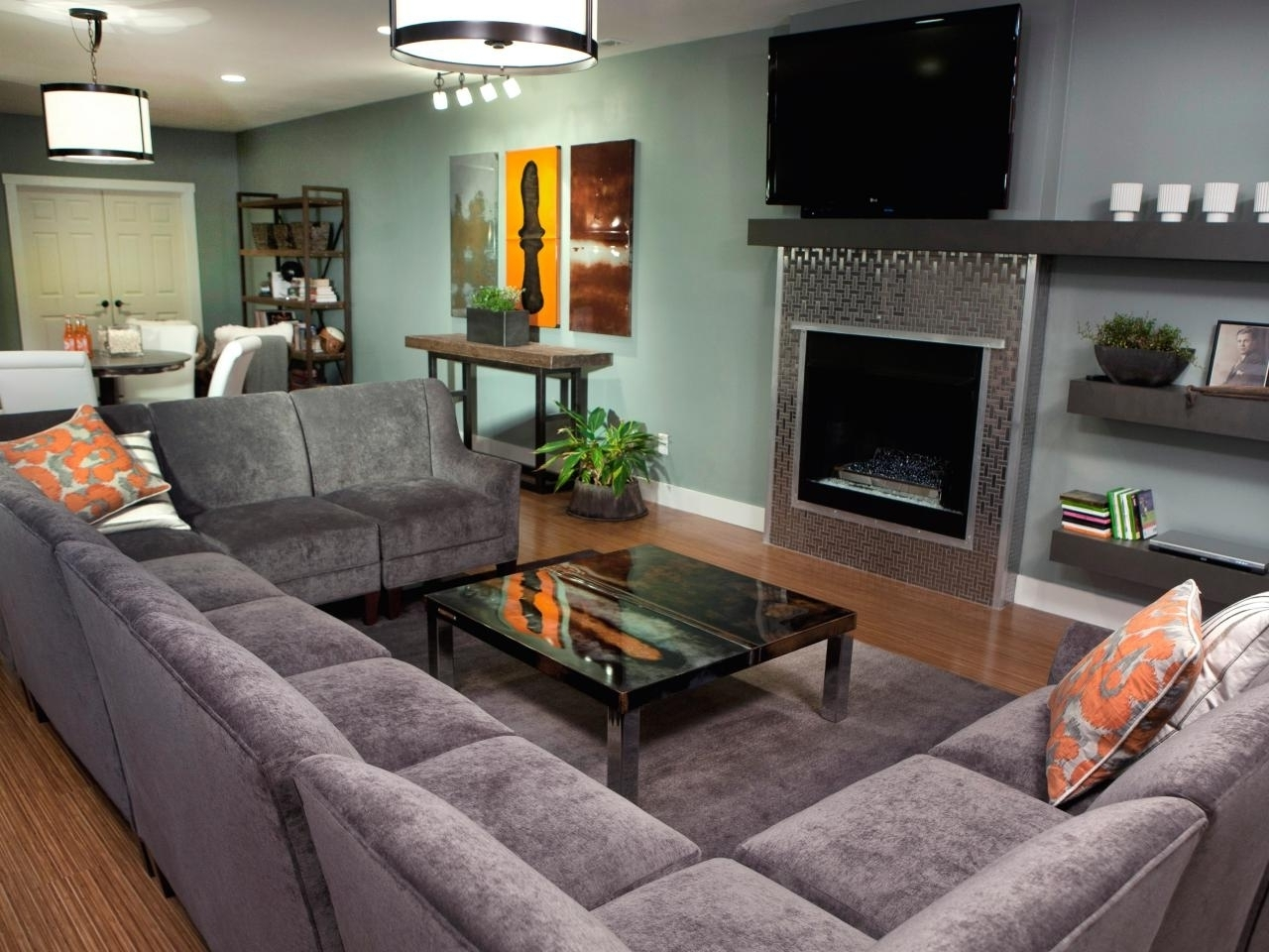 U Shaped Sectionals Intended For Favorite Sofa : U Shaped Sofa Sectional Has One Of The Best Kind Of Other (View 15 of 20)