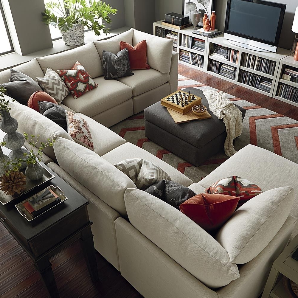 U Shaped Sectionals Throughout Preferred Beckham U Shaped Sectional (Gallery 2 of 20)