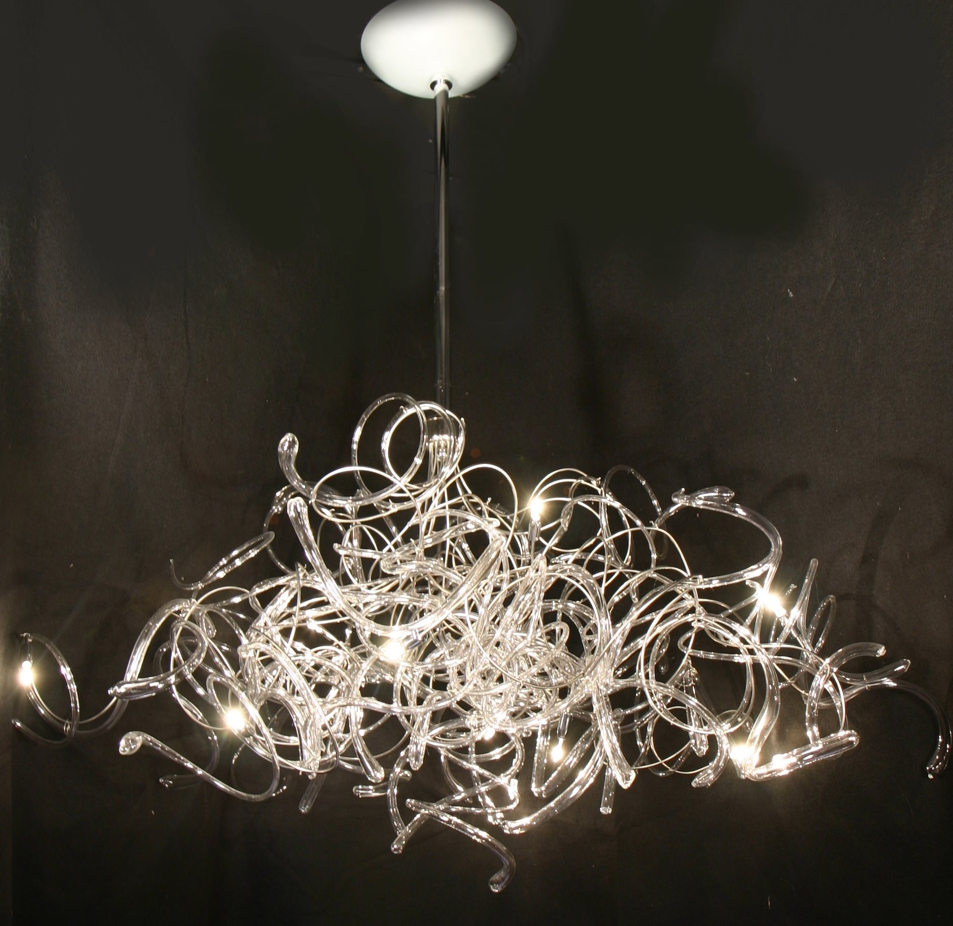 Ultra Modern Chandelier For Recent Ultra Modern Chandelier Lighting – Musethecollective (Gallery 2 of 20)