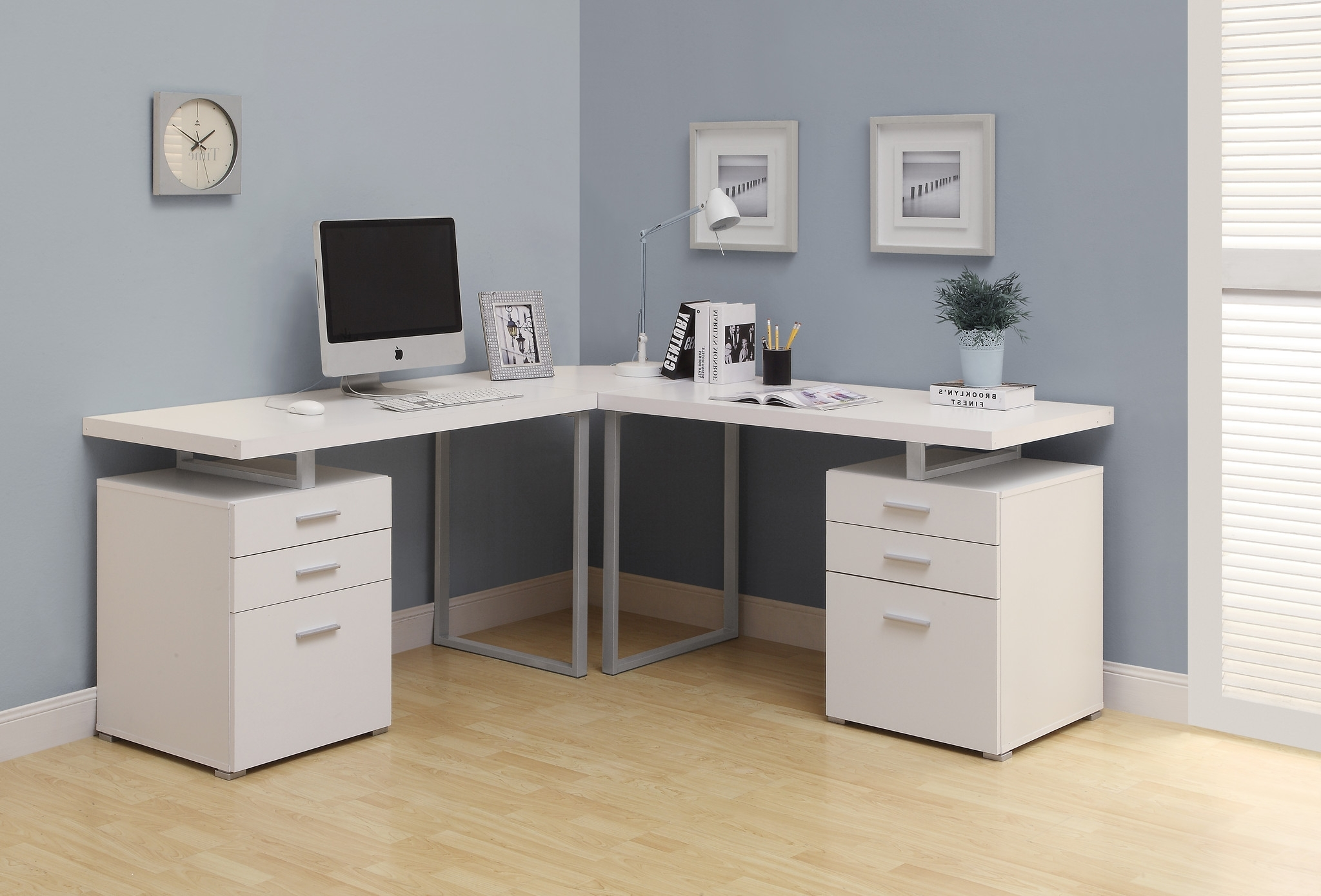 Uncategorized. Cool Corner Desk: Cool Corner Desk Buy Computer Within Favorite Computer Desks In White (Gallery 11 of 20)