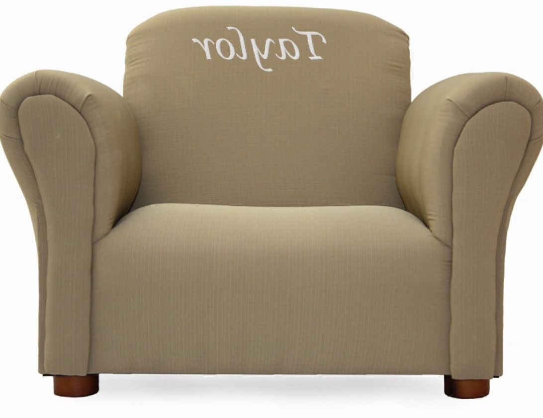 Uncategorized : Personalized Kids Chairs In Wonderful Toddler Sofa In Most  Up To Date Personalized Kids