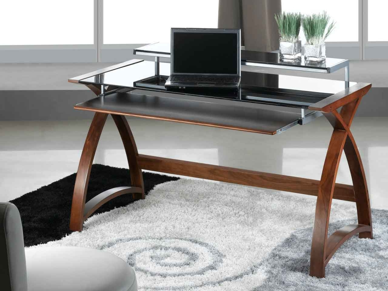 Unique Computer Desks Throughout Most Popular Unique Computer Desk Home Design (Gallery 7 of 20)