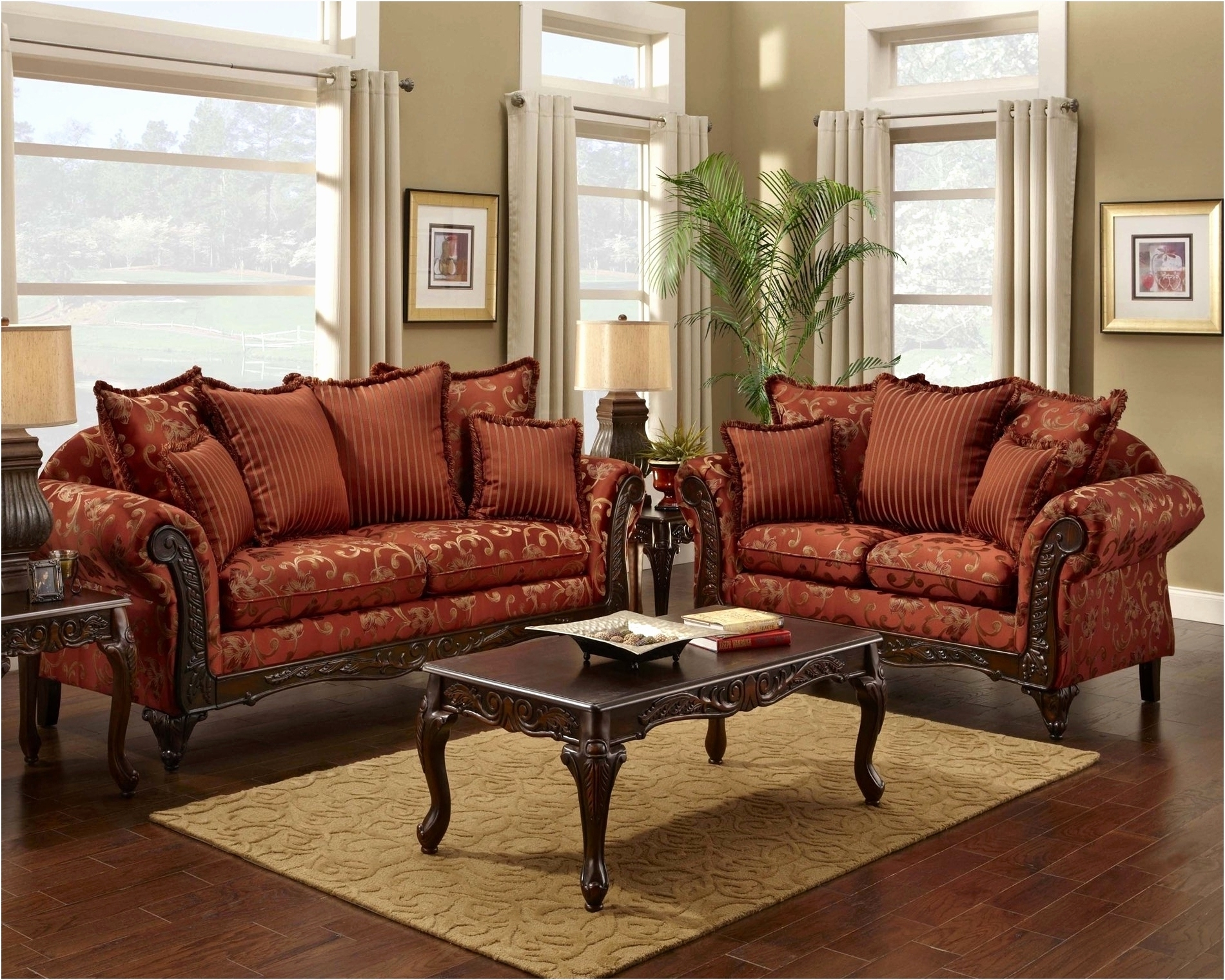 Unique Red Microfiber Couch And Loveseat 2018 – Couches And Sofas Pertaining To Fashionable Kanes Sectional Sofas (Gallery 19 of 20)