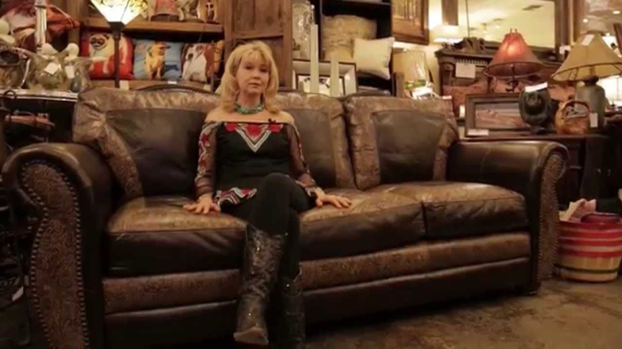 United Leather El Dorado Handmade Top Grain Leather Sofa – Youtube With Regard To Newest Full Grain Leather Sofas (Gallery 13 of 20)