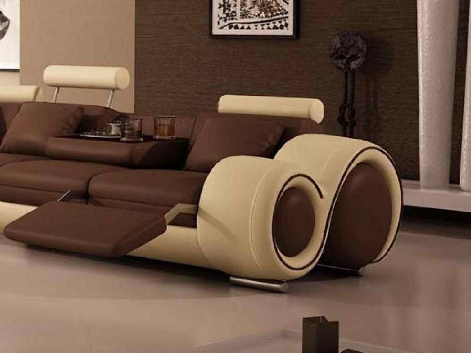 Unusual Sofa Throughout Most Current Sofa : Furniture Modern Unusual Sofa Design Awesome Style Riveting (View 14 of 20)