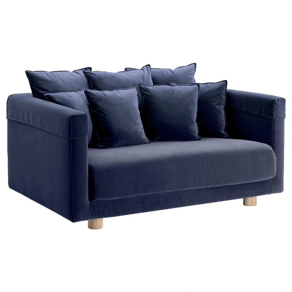 Unusual Sofas Inside Widely Used Sofa : Beautiful Denim Sofa Ikea Stockholm Two Seat Blue Sectional (View 15 of 20)