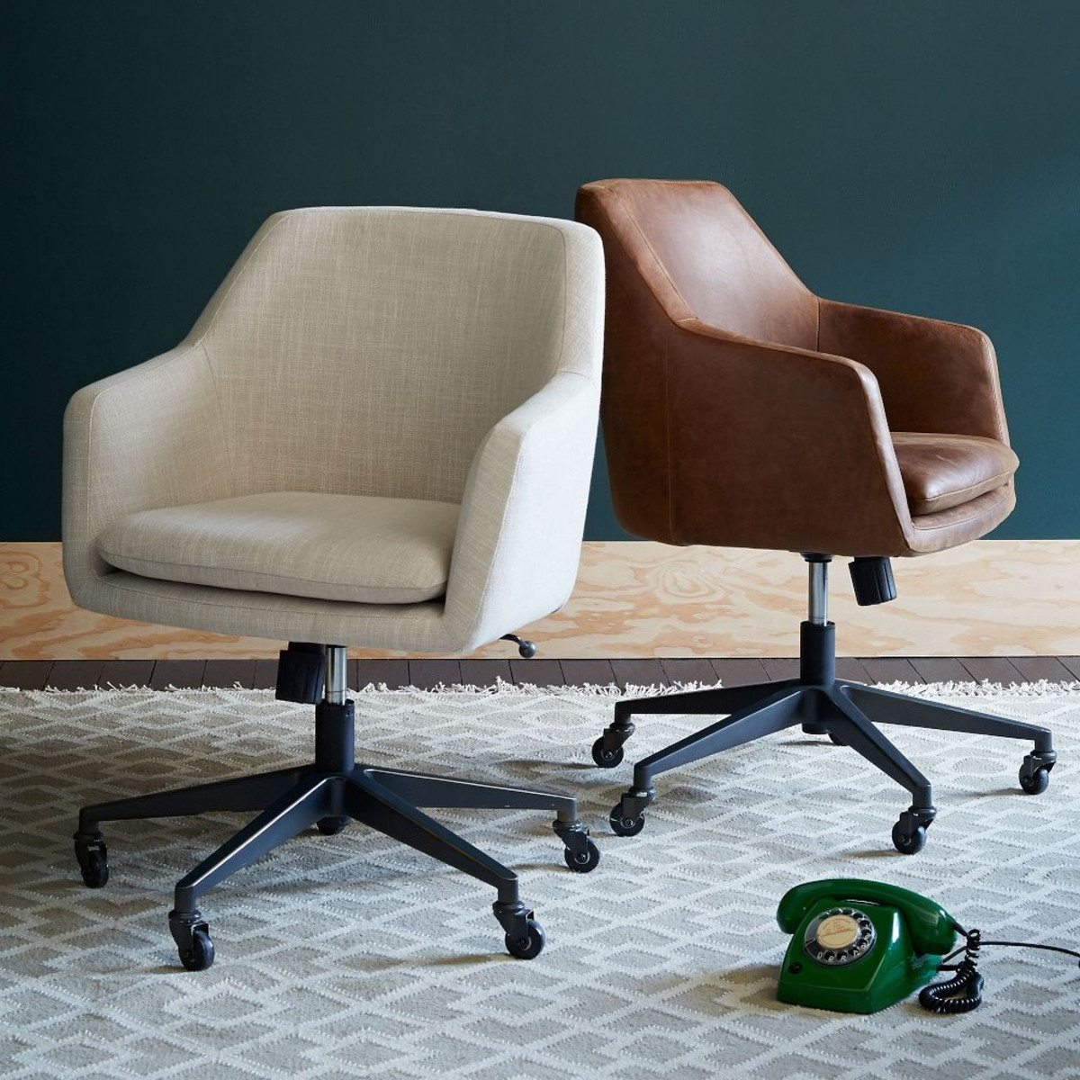 Upholstered Executive Office Chairs Regarding Preferred Upholstered Desk Chair Design : Varied And Striking Upholstered (View 12 of 20)