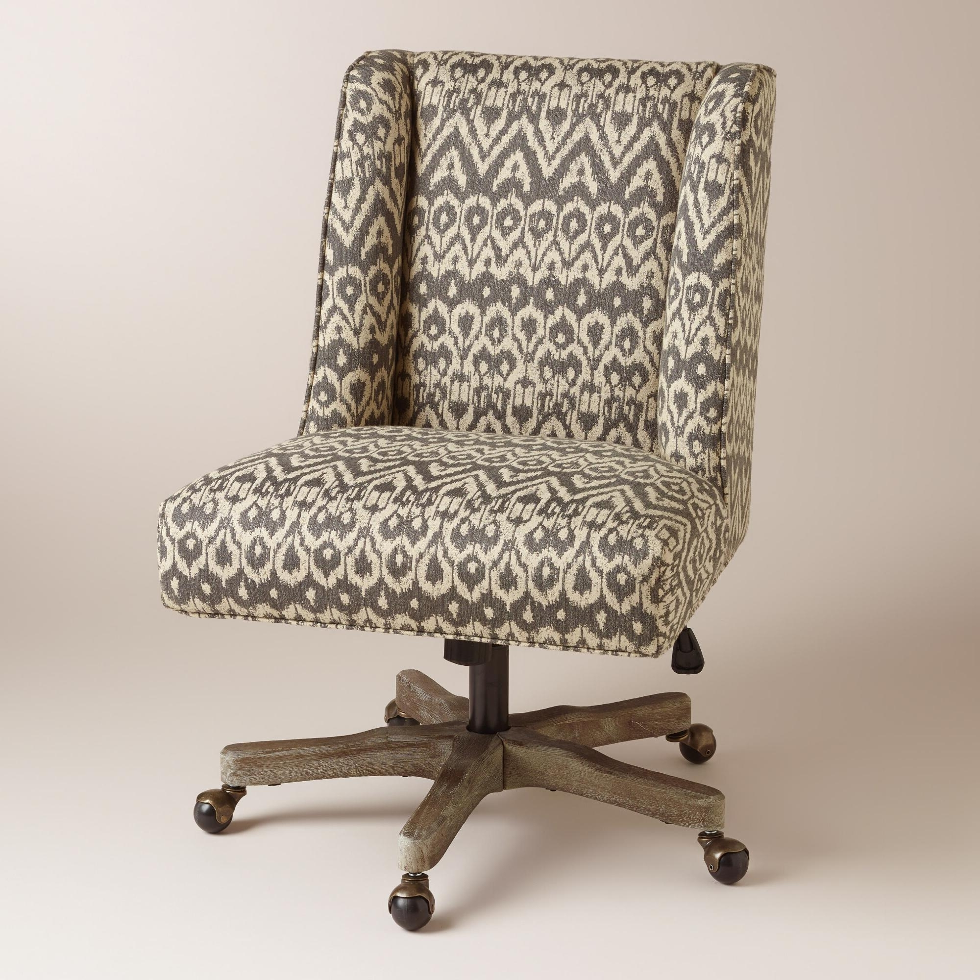 Upholstered Executive Office Chairs With Most Popular Upholstered Office Chairs (View 6 of 20)