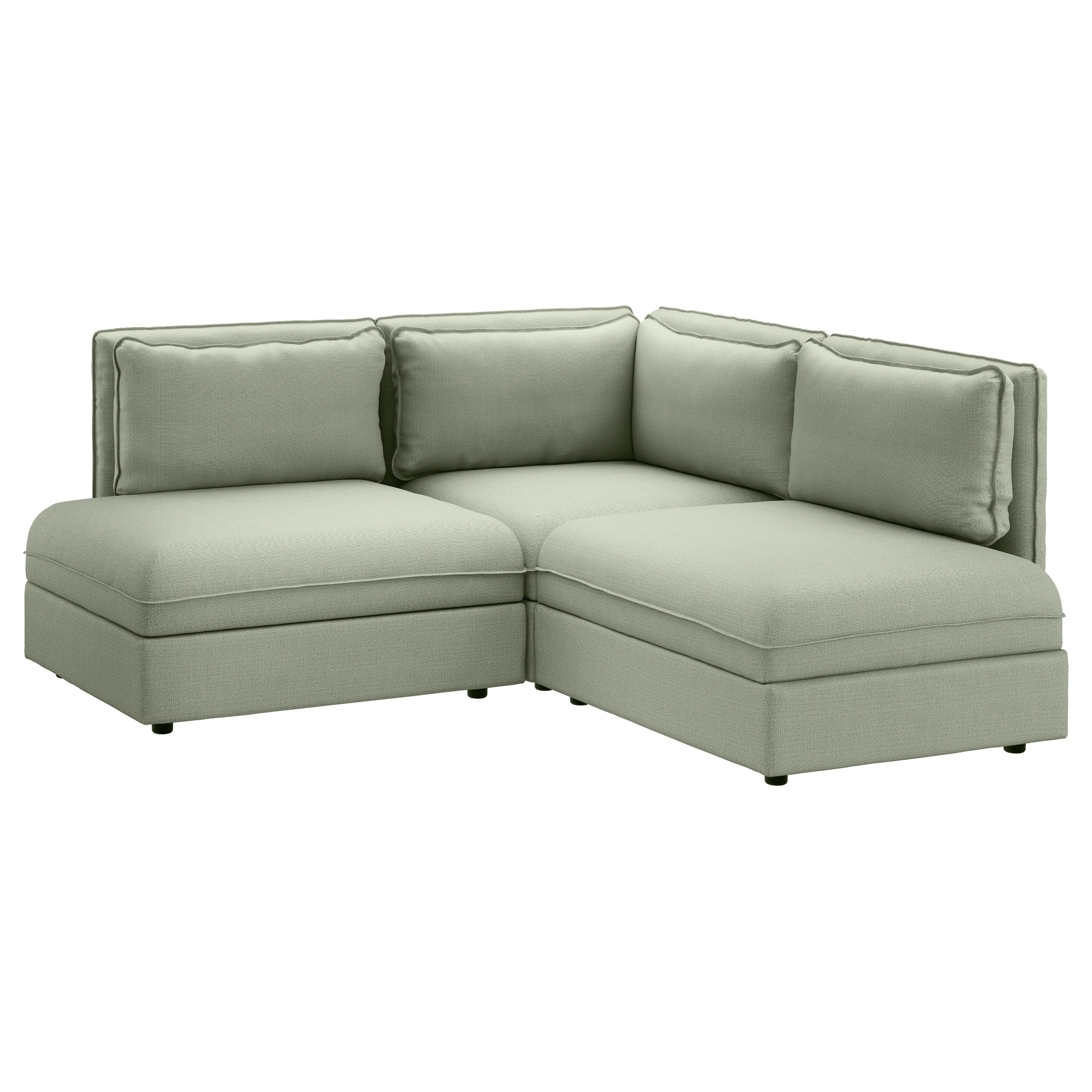 Vallentuna Sectional, 2 Seat – Hillared Green – Ikea Inside Favorite Jacksonville Nc Sectional Sofas (View 19 of 20)