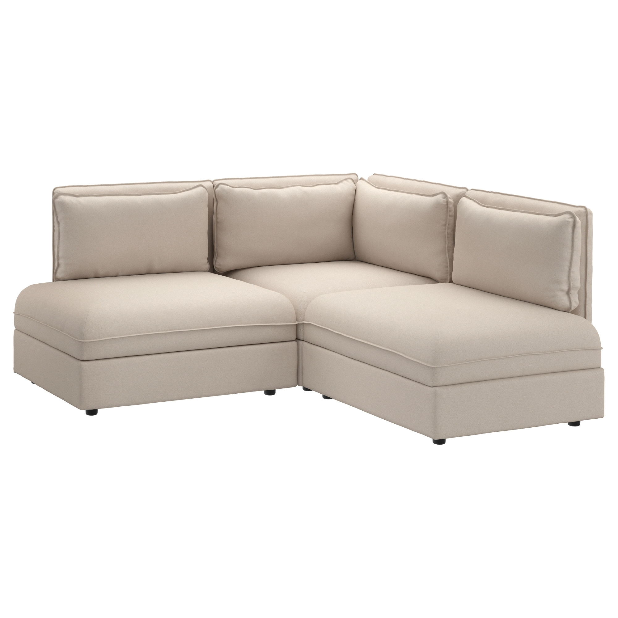 Vallentuna Sectional, 2 Seat – Murum Beige – Ikea Intended For Current Ikea Sectional Sofa Beds (View 18 of 20)