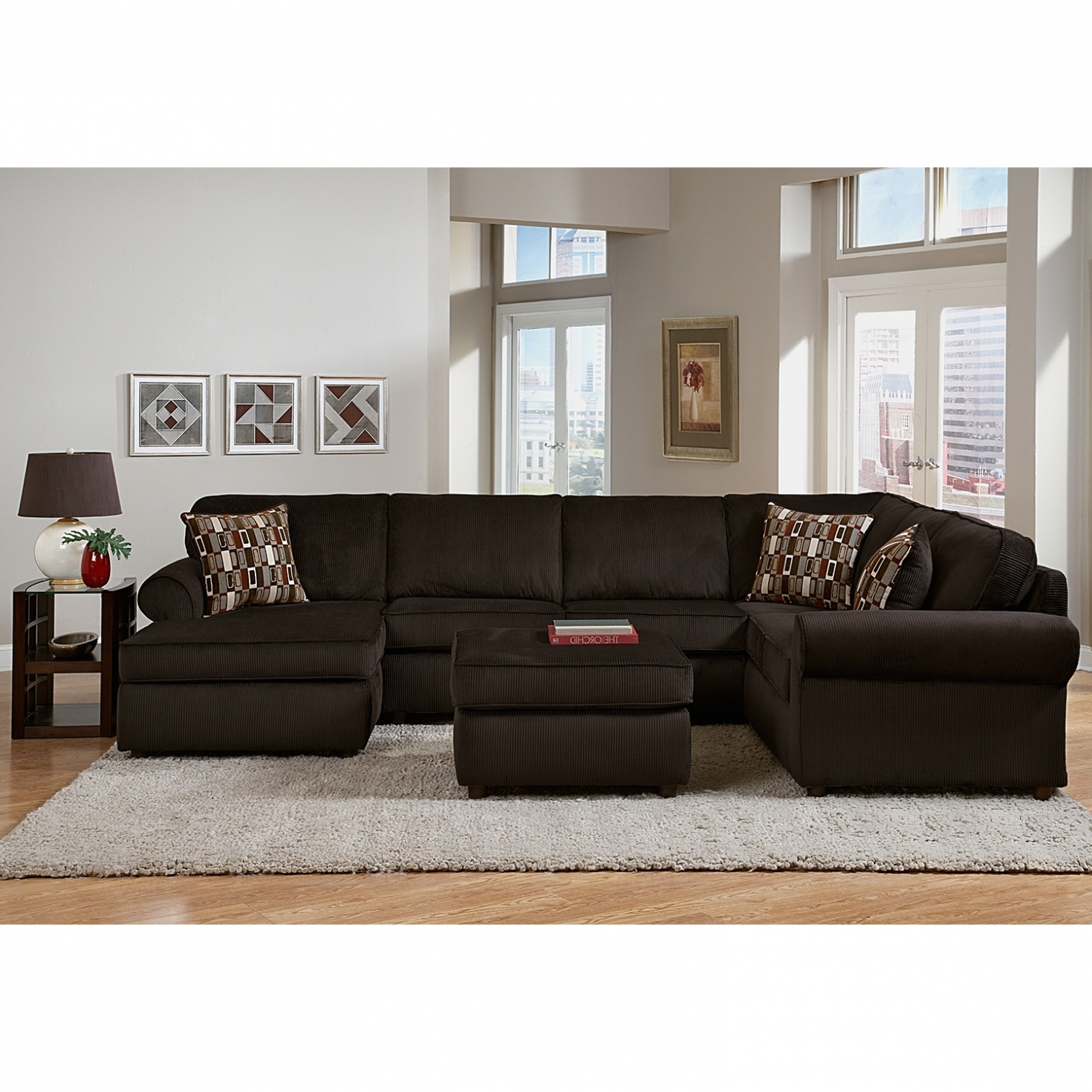 Value City Sectional Sofas Regarding Fashionable Furniture: New Value City Sectional Sofa 32 For Living Room Sofa (View 18 of 20)