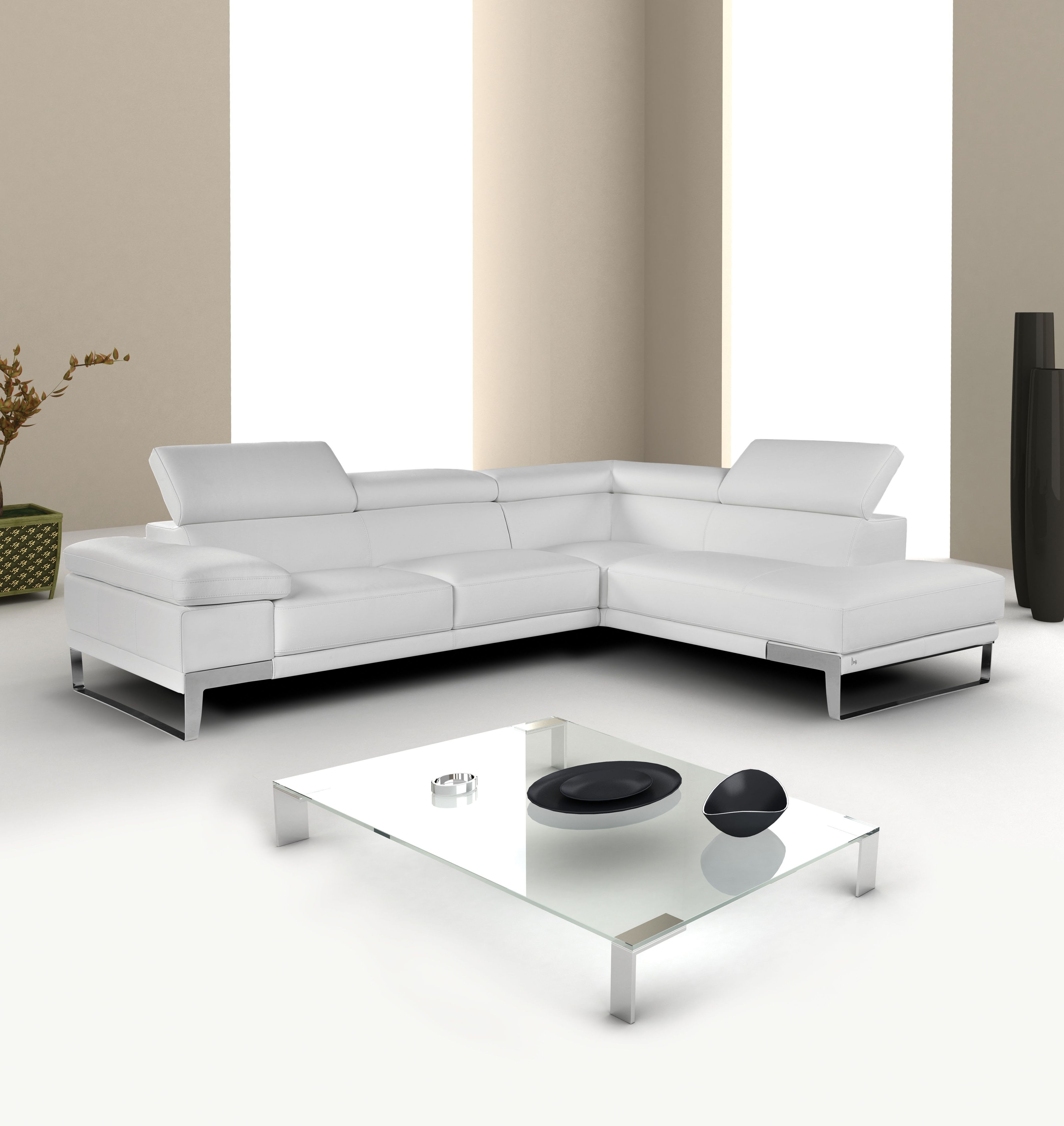 Vancouver Bc Canada Sectional Sofas Regarding Most Recently Released Sectional Modern Sofa Interior White Button Leather Furniture (Gallery 11 of 20)