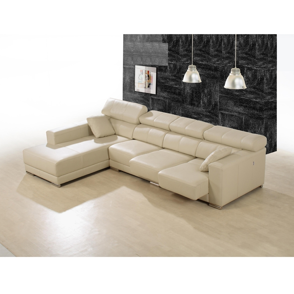 Vancouver Sectional Sofas Pertaining To Famous Enzo Leather Sectional Sofa (Gallery 2 of 20)