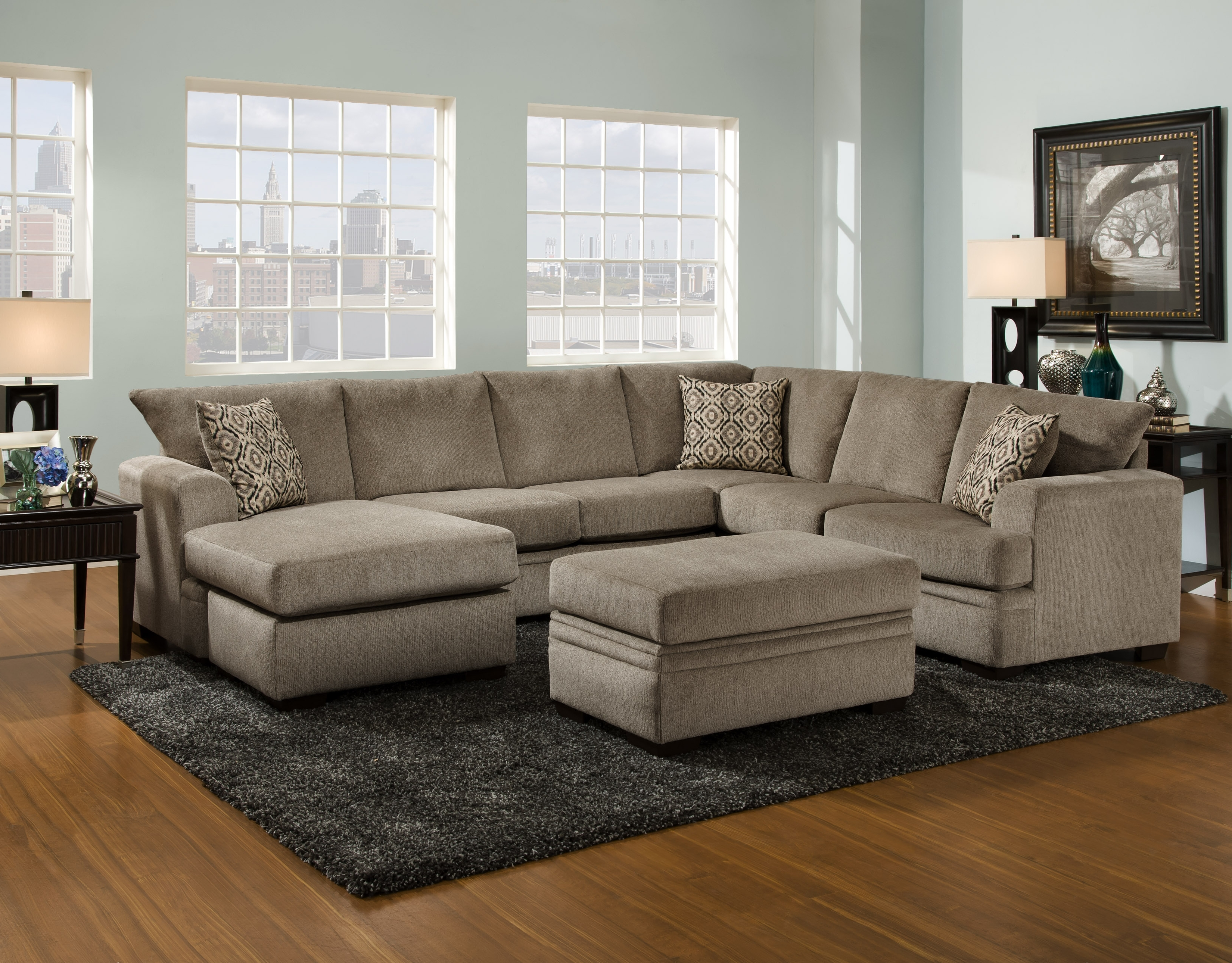 Vaughan Sectional Sofas Pertaining To Most Current Living Room Furniture – Vaughn's Home Furnishings (View 9 of 20)