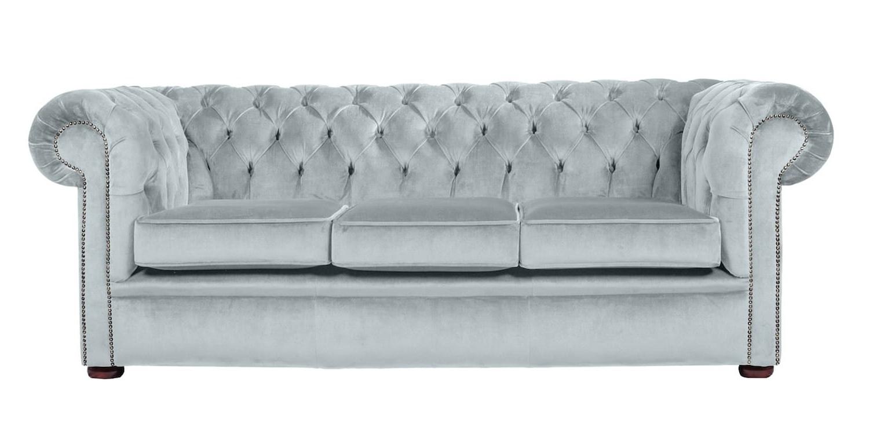Velvet Purple Sofas Intended For Well Liked Sofa : Fabric Chesterfield Sofa London Sofa Purple Velvet (View 19 of 20)
