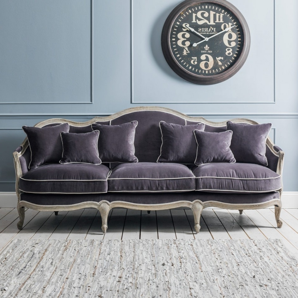 Velvet Sofas In Well Known Velvet Sofa Brush – Velvet Sofa In Modern And Classic Design (Gallery 15 of 20)