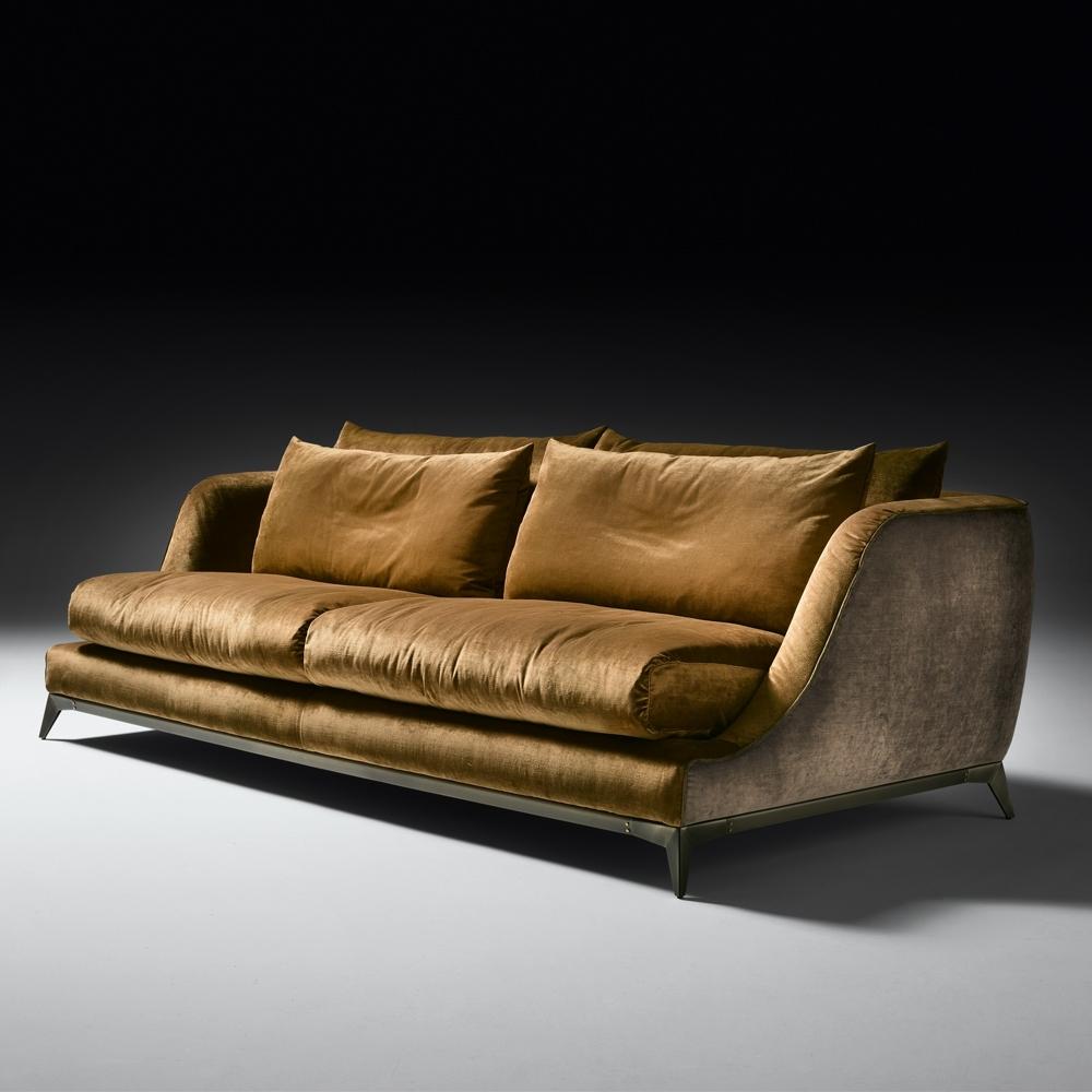 Velvet Sofas With Well Liked Contemporary Designer Velvet Sofa (View 17 of 20)