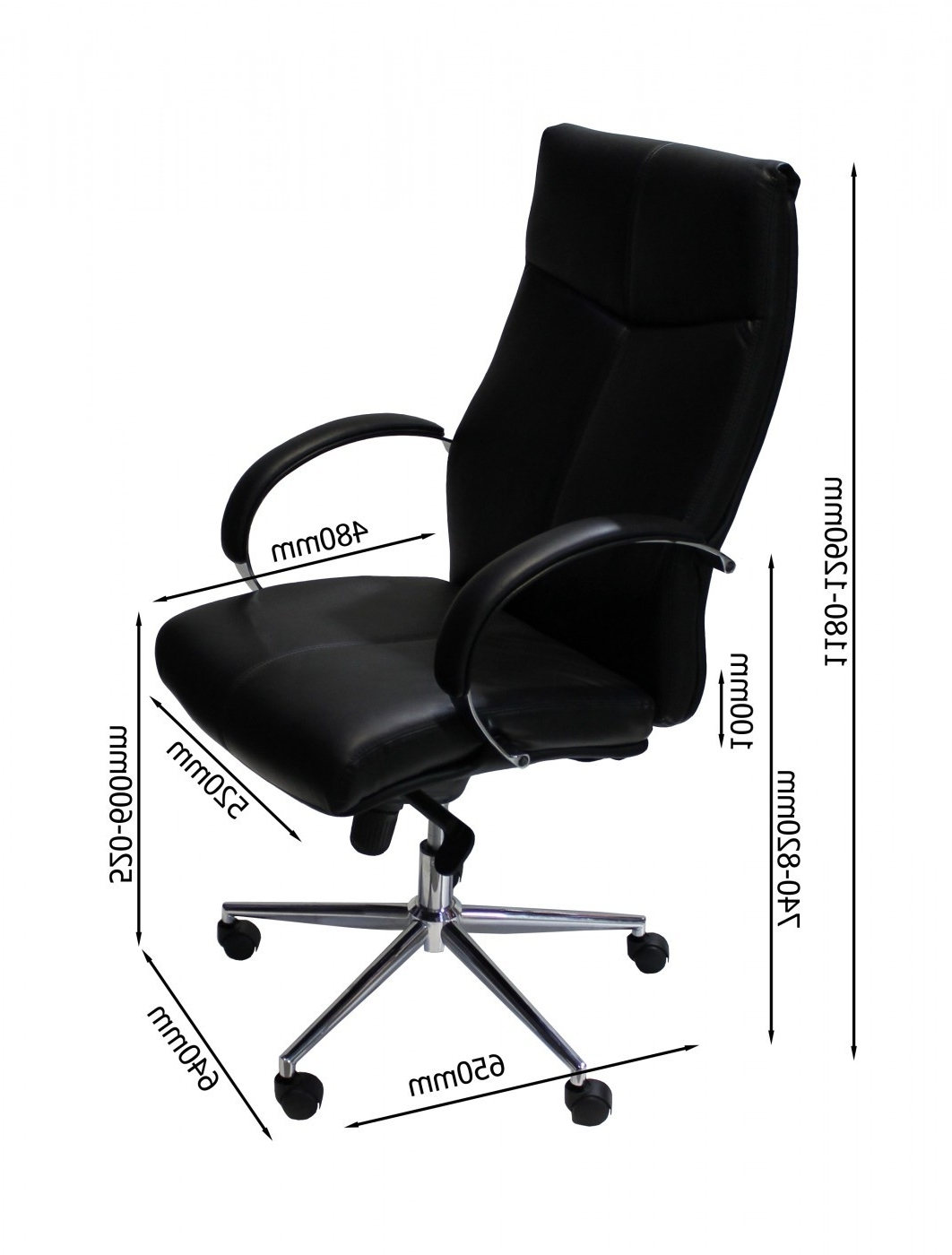 Verona Executive Leather Office Chairs With Regard To Popular Alphason Verona Executive Office Chair Aoc1019blk (View 14 of 20)