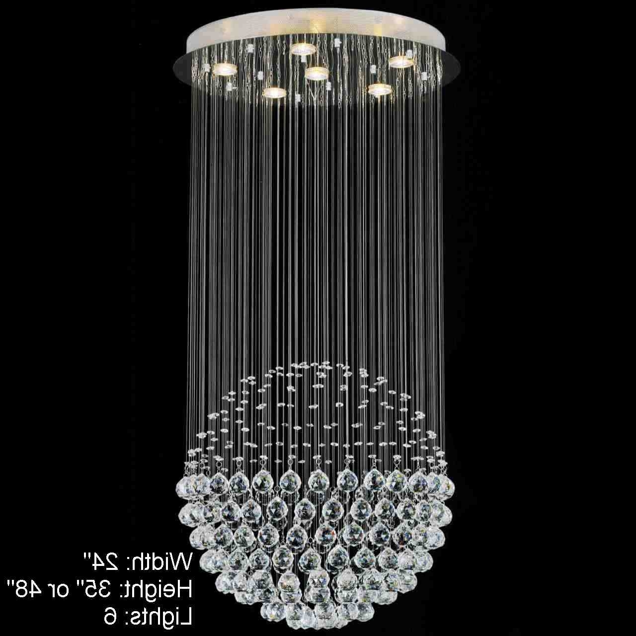 Vienna Crystal Chandeliers For Most Recently Released Home Design : Mesmerizing Modern Crystal Chandeliers Innovative (View 12 of 20)