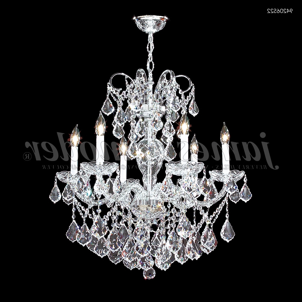 Vienna Crystal Chandeliers For Well Known James R (View 15 of 20)
