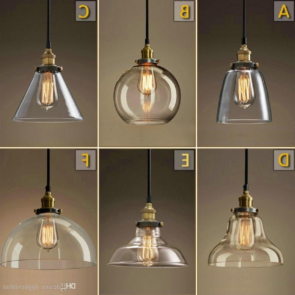 Vintage Chandelier Diy Led Glass Pendant Light Pendant Edison Lamp For Famous Vintage Style Chandeliers (View 9 of 20)