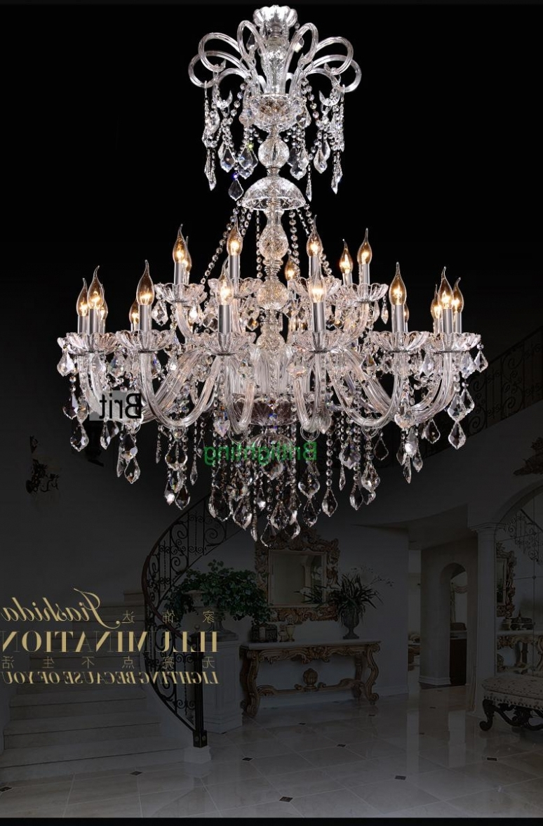 Vintage Chandeliers With Well Known Lighting: Extra Large Foyer Chandelier Vintage Chandeliers Modern (View 5 of 20)