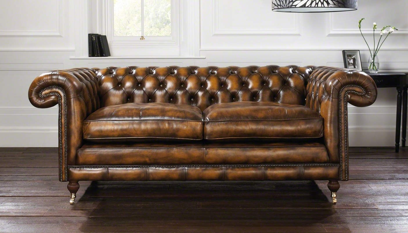 Vintage Chesterfield Sofas Pertaining To Trendy Brown: The Most Popular Chesterfield Sofa Shade (Gallery 14 of 20)