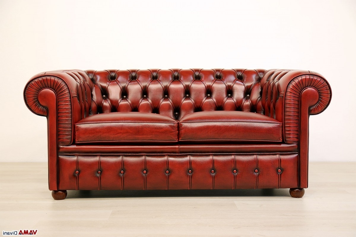 Vintage Chesterfield Sofas With Best And Newest Chesterfield 2 Seater Sofa (View 14 of 20)