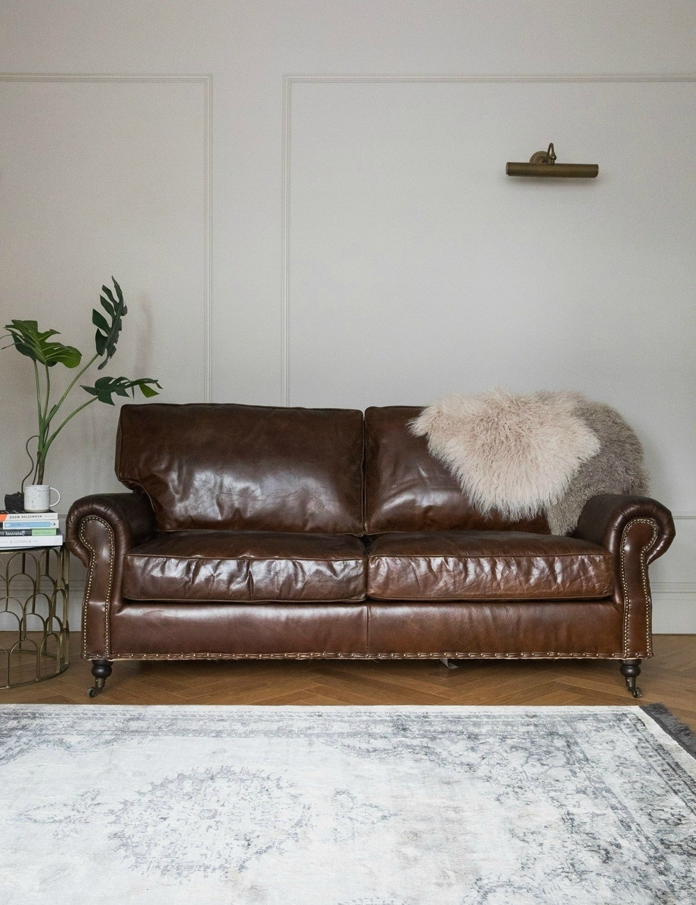 Vintage Leather Sofa – 3 Seater (Gallery 17 of 20)