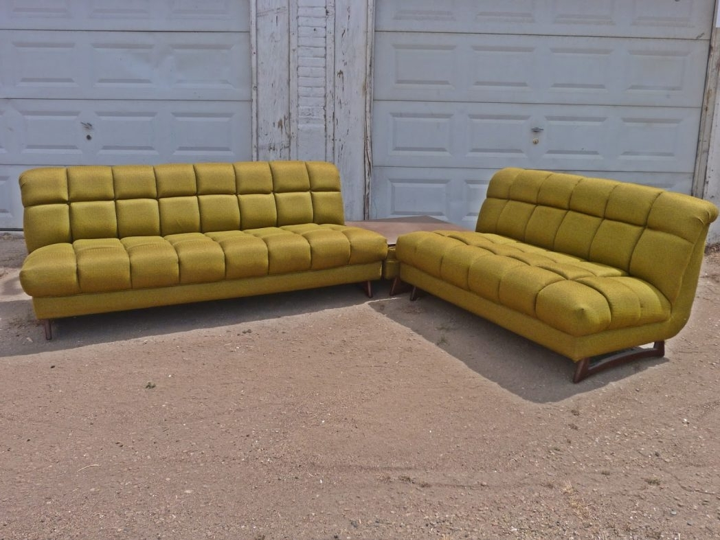 Vintage Retro Sectional Sofa (Gallery 11 of 20)