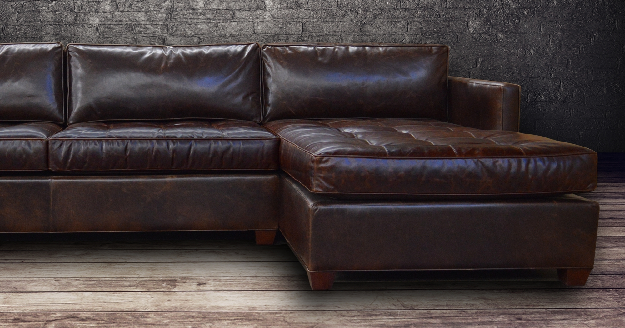 Vintage Sectional Sofas In Well Known Vintage Leather Sectional Sofa – Cleanupflorida (View 15 of 20)