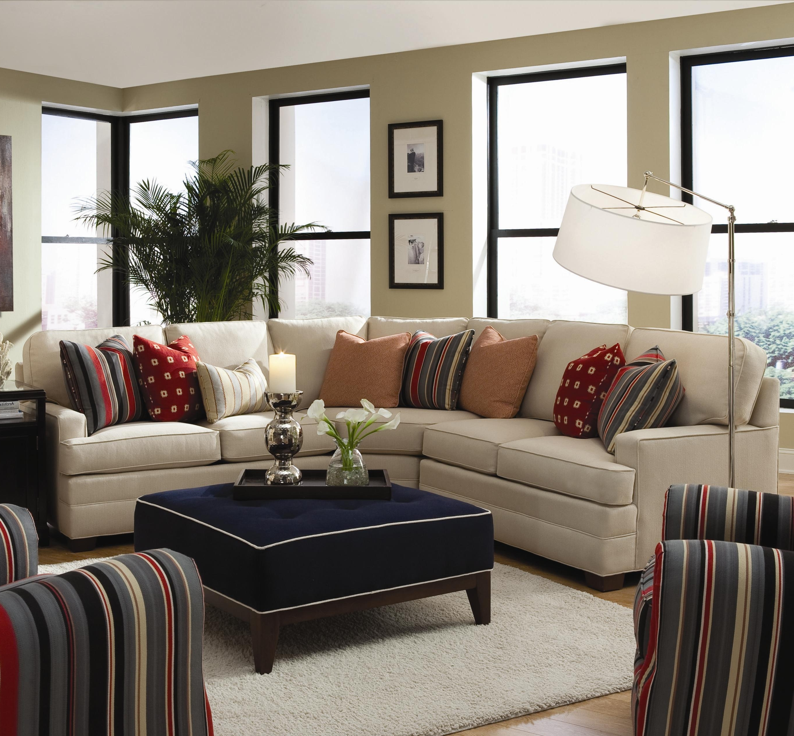 Virginia Sectional Sofas For Best And Newest Dellinger 3 Piece Sectional Sofahuntington House (View 12 of 20)
