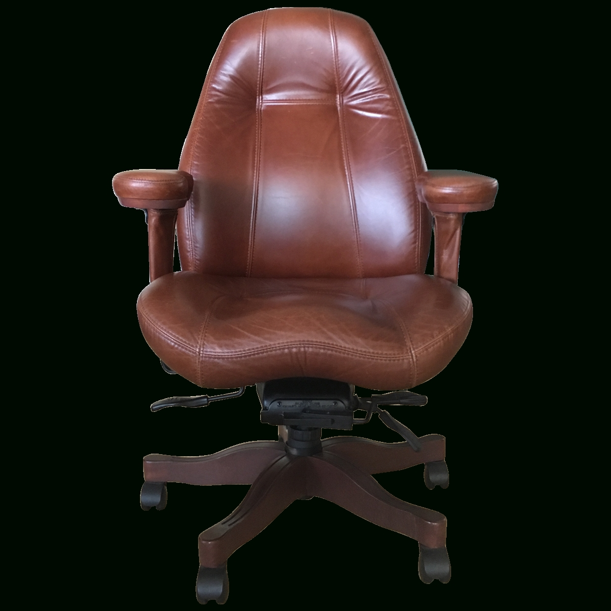 Viyet – Designer Furniture – Seating – Relax The Back Lifeform Mid For Most Popular Tan Brown Mid Back Executive Office Chairs (View 15 of 20)