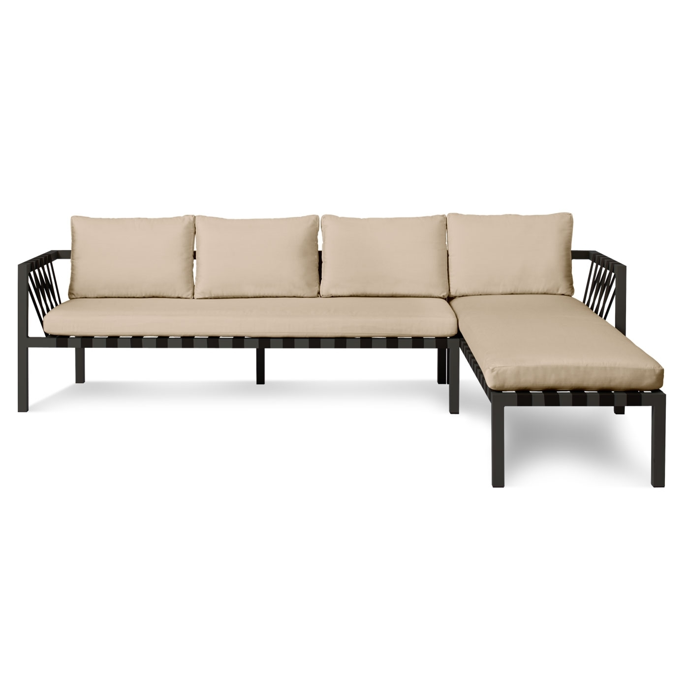 Vt Sectional Sofas With Regard To Most Recent Jibe Outdoor Sectional Sofa – Left Sectionals (View 21 of 21)