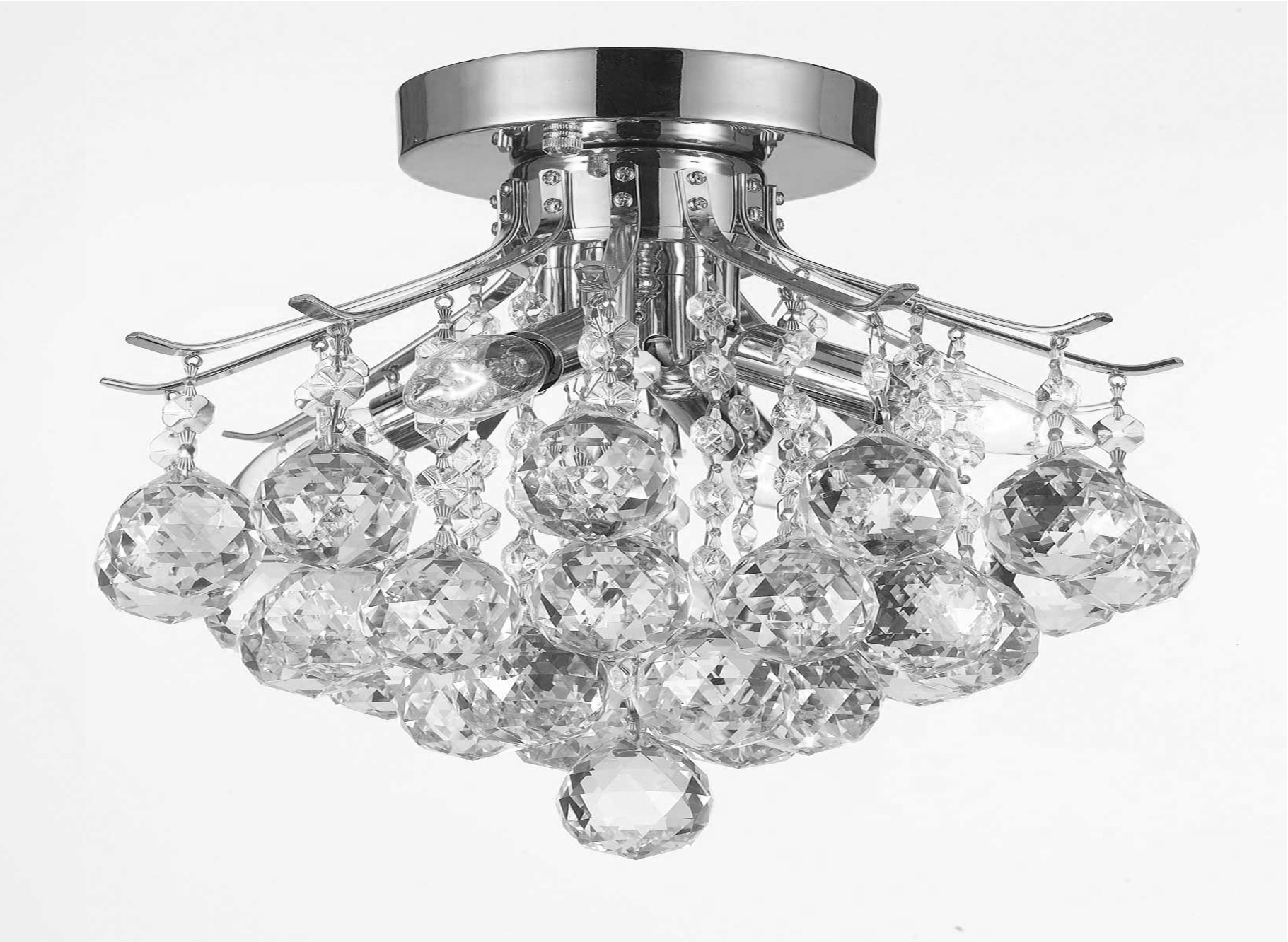 Wall Mount Crystal Chandeliers In Latest G7 Cs/1132/4 Gallery Empire Style Empire Crystal Chandelier (View 13 of 20)