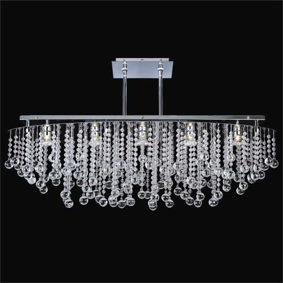 Wall Mount Crystal Chandeliers Pertaining To 2019 Light Fixture : Large Flush Mount Crystal Chandelier The Crystal (View 14 of 20)