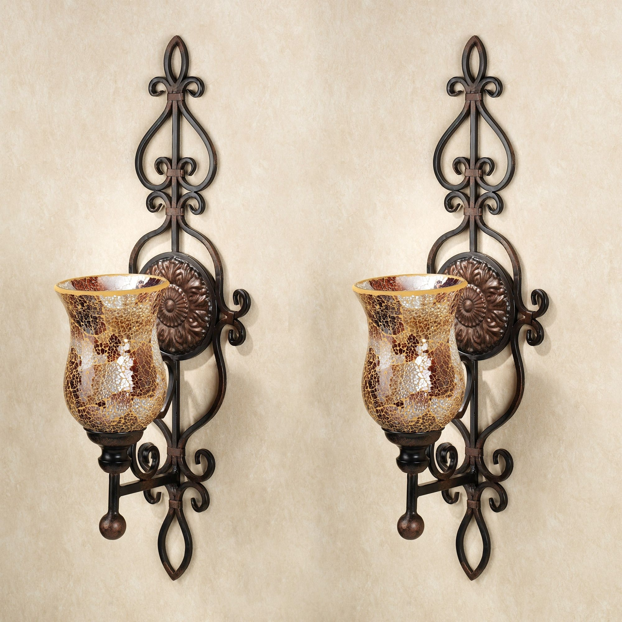 Wall Mounted Candle Chandeliers Within Best And Newest Wall Mounted Candle Chandelier – Musethecollective (View 3 of 20)