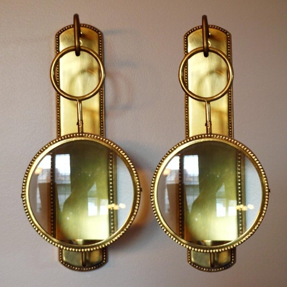 Wall Sconces Candle Chandeliers : Candle Sconces For The Wall Style With Fashionable Wall Mounted Candle Chandeliers (View 17 of 20)