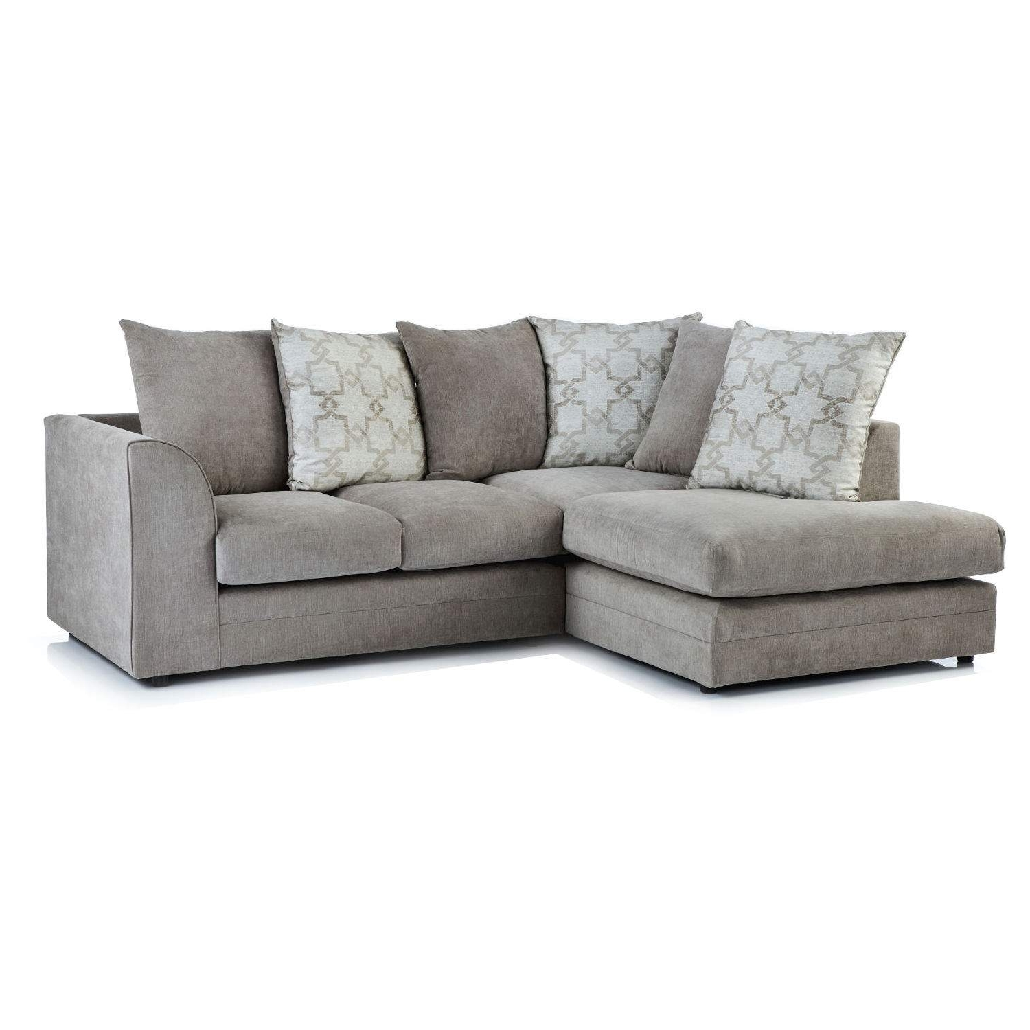 Washington Fabric Corner Chaise Sofa – Next Day Delivery Within Favorite Fabric Corner Sofas (View 7 of 20)
