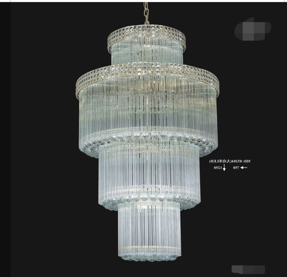 Waterfall Chandelier, Waterfall Chandelier Suppliers And Intended For Trendy Waterfall Crystal Chandelier (View 14 of 20)