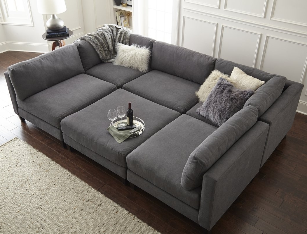 Wayfair Sectional Sofas Within Trendy Homesean & Catherine Lowe Chelsea Modular Sectional & Reviews (View 16 of 20)