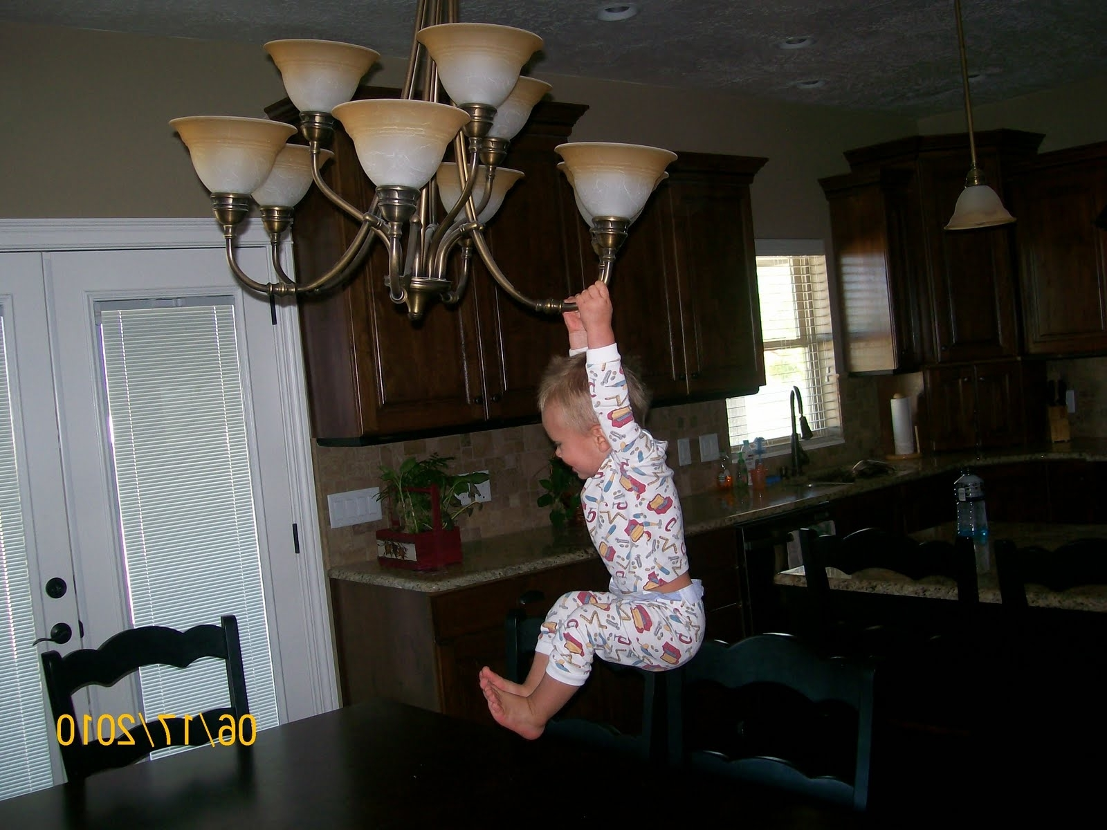 Weird Chandeliers Intended For Most Recent Chandelier In Living Room W/8Ft Ceilings? (View 16 of 20)